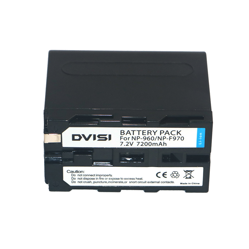 DVISI NP-F970 NP F970 NP-F960 NP-F950 7200 mAh Caméra Rechargeable Batterie Pour Sony CCD-RV100 CCD-TRV58 DCR-TRV110K z1 Gros