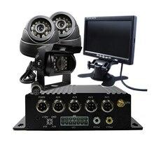 4CH SD H.264 I/O GPS Track Car Vehicle DVR Video Recorder Kit SONY 600TVL CCTV Camera 9″ Screen For Truck Van Bus Free Shipping