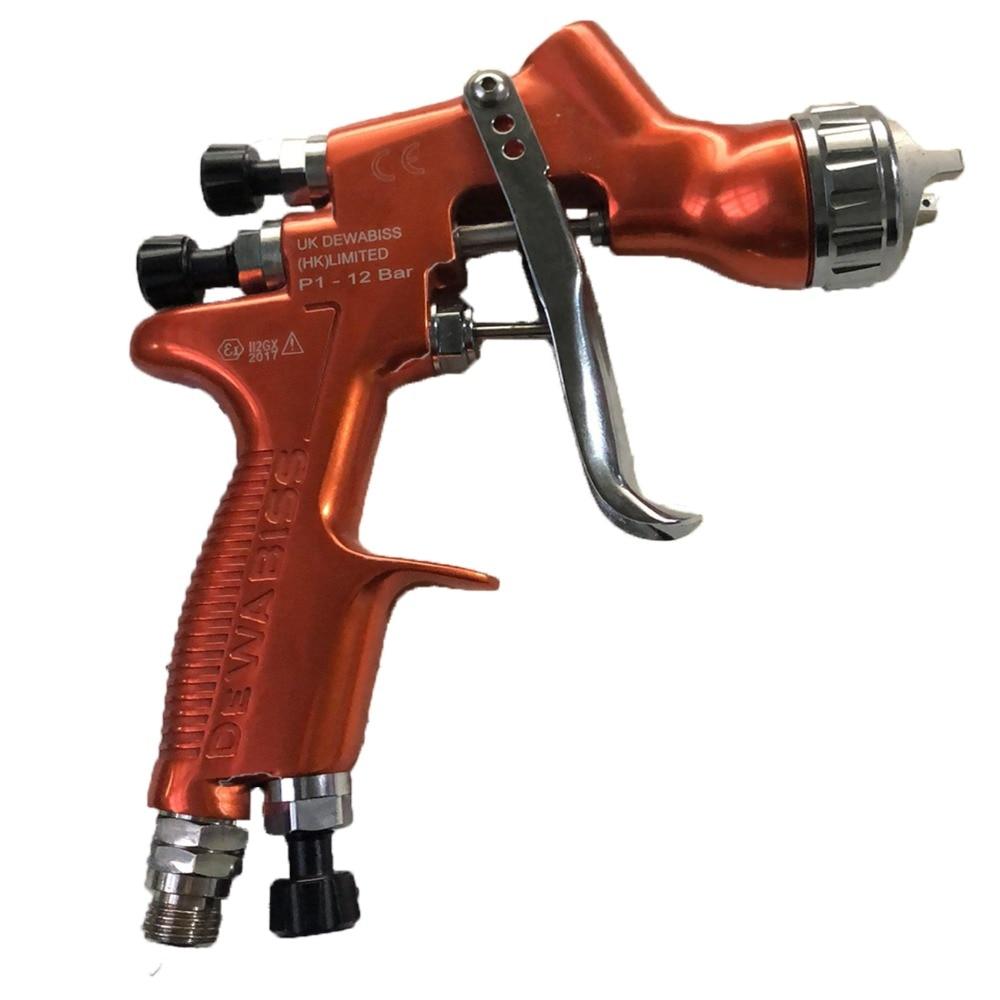 HD 2 pot paint spray gun pure aluminium forging spray gun furniture spray pneumatic tools