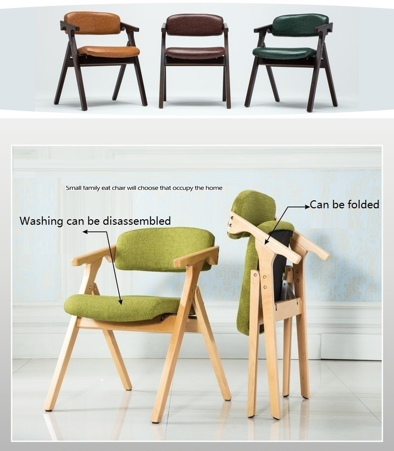 Simple and modern dining chair in South America retail green brown Yellow color restaurant hotel chair free shipping
