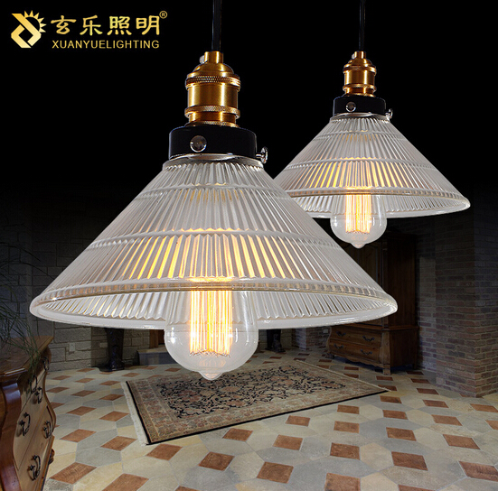 Loft Style American Rural Industrial Vintage Glass Pendant Light Retro Cafe Restaurant Decoration LED Pendant Lamp Free Shipping loft style vintage pendant lamp iron industrial retro pendant lamps restaurant bar counter hanging chandeliers cafe room