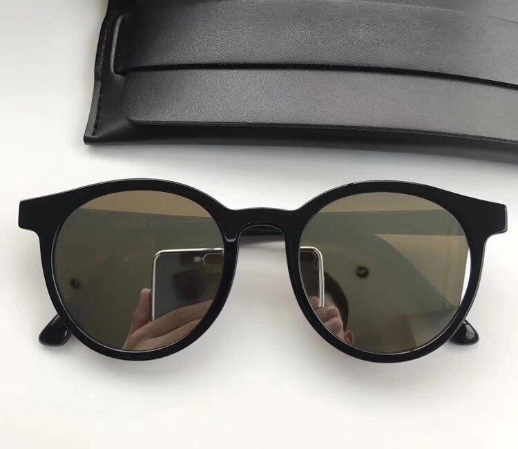 black Katze Sonnenbrille silver Sanfte Brillen beige Marke Für Männlichen Spiegel Noir Unisex Polarisierte Designer frauen Beschichtung Männer Runde Blue Mode FwqTBw