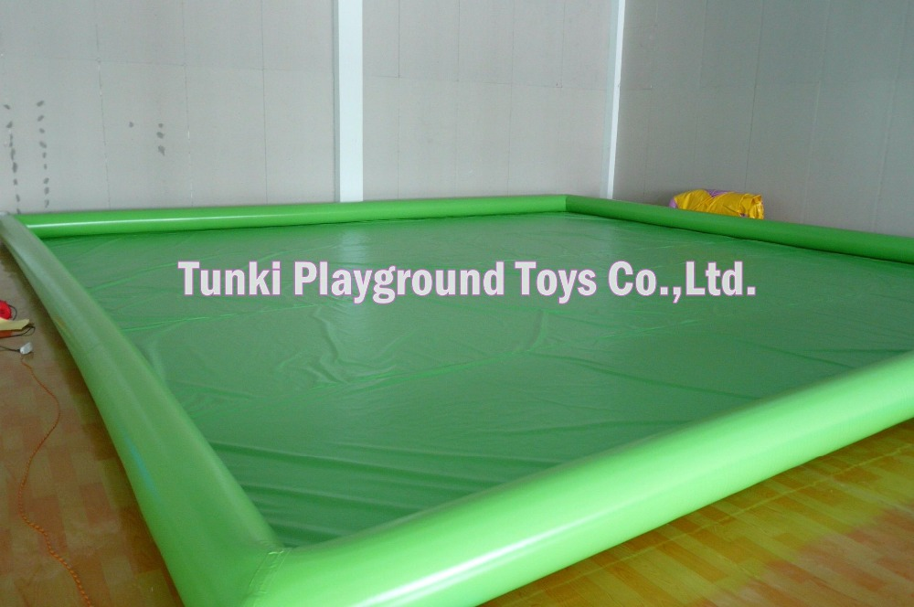 6*8*0.5m aqua pvc pool water games