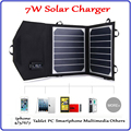 Waterproof 5V 7W Portable Folding Foldable Sunpower Solar Panel Charger, Mobile Phone Cellphone Power Bank Solar Charger