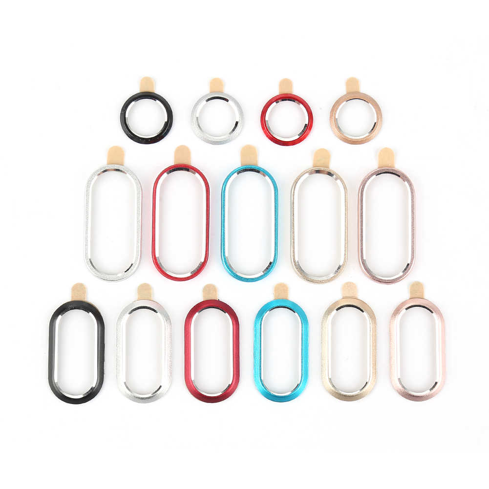 For IPhone X 7 8 Camera Lens Protector Ring Plating Aluminum for IPhone 7 8 PlusCamera Case Cover Ring Protection Accessories