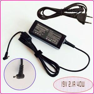 Image 1 - 19 V 2.1A dla ASUS Eee PC muszla 1225B 1225C 1015PED 1015 T 1015B 1005HE E305895 pokrowiec na laptopa adapter AC mocy ładowarka