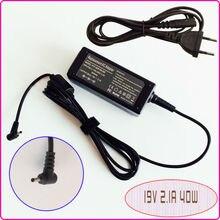 19 v 2.1A עבור ASUS Eee PC צדף 1225B 1225C 1015PED 1015 t 1015B 1005HE E305895 מחשב נייד נטבוק Ac מתאם אספקת חשמל מטען