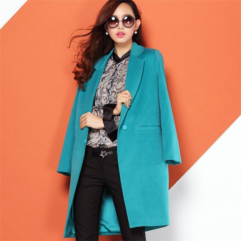 Woolen Suit New Spring Autumn Winter Fashion Women s Coat Female Slim