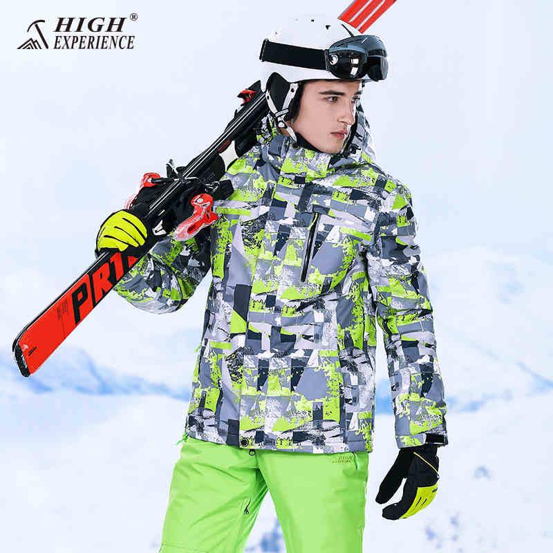 Hiver hommes vestes de Ski imperméable veste d'hiver pantalon hommes snowboard costumes mâle Ski costume hommes épaissir hommes Sport costume Ski