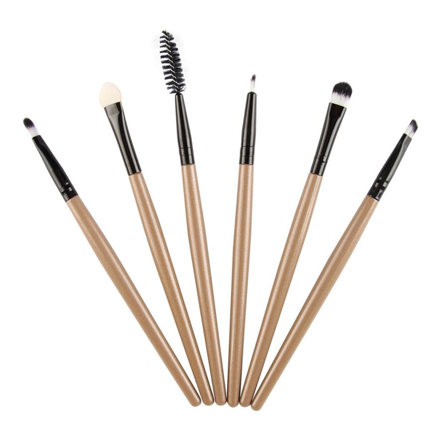 6pcs Makeup Brushes foundation plastic handle makeup brushes set professional brushes New arrival 11.24