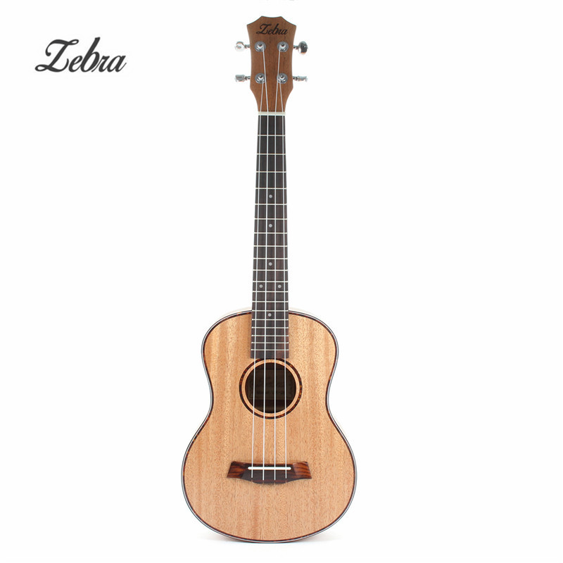 Zebra 23 26 4 Strings Mahogany Concert Guitarra Guitar Rosewood Fretboard Bridge Ukulele Uke For Musical Stringed Instruments soprano concert tenor ukulele 21 23 26 inch hawaiian mini guitar 4 strings ukelele guitarra handcraft wood mahogany musical uke