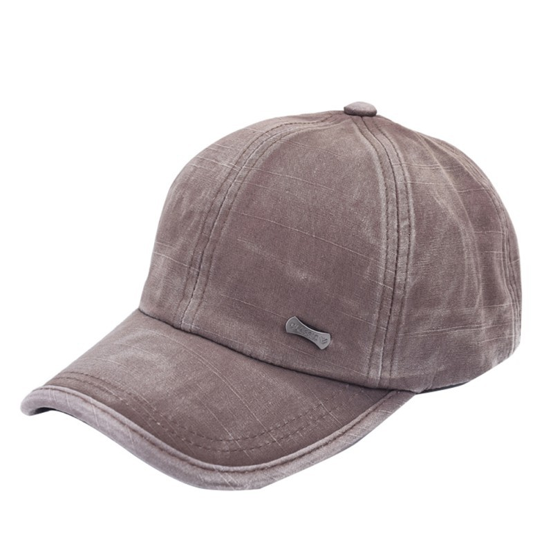Men Women Classic Adjustable Army Plain Hat Cadet Baseball  Cap H7