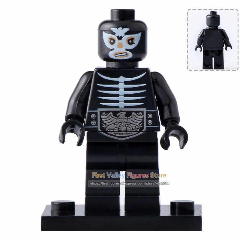 DR.TONG Single Sale Kamen Masked Rider Figures Set No.1 V3 Shocker Soldier Building Blocks Children DIY Gift Bricks Toys PG8101