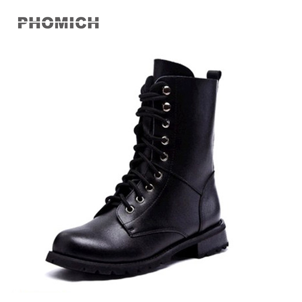 2018 Motorcycle Shoes Motocross Bottes Racing New Women's Motocross Shoes Leather Moto Martin Boots Racing Motorbike Boot-in Motocycle Boots from Automobiles & Motorcycles    1