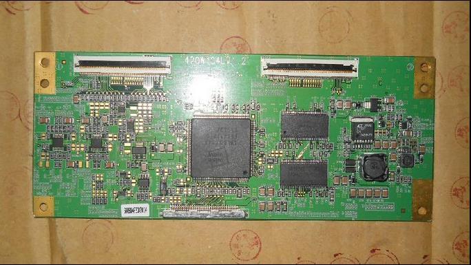 420W1C4LV1.2 LOGIC high voltage board connect with T-CON connect board seiki se50uy04 v500dk1 cs1 mv 0sp4v 0 t con board
