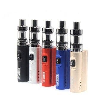 E-XY HT 50 Electronic Cigarette Box Mod kit 2200mAh HT50W e cigarette kits 2ML mini Tank Vaporizer Vapor  box mod vape