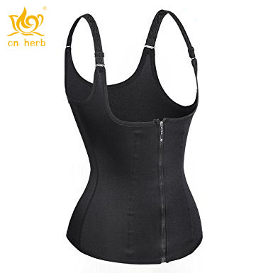 921ccb248 Cn Herb Women s Underbust Corset Waist Trainer Cincher Steel Boned Body  Shaper Vest With Adjustable Straps Free Shipping