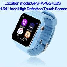 2016 kids watch V7K smart watch GPS/SOS Call Location DevicerTracker smartwatch for Kid Safe Anti-Lost GPS tracker PK Q90/5