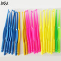 JINSE DIY Accessories Jewelry Plastic Loom Hook Loom Bands Crochet Hooks For Knit DIY Crafts Loom Tool DIY Bracelet 50pcs/lot