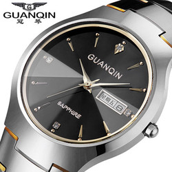 Original guanqin brand men watch tungsten steel men clock waterproof wristwatches sapphire quartz watch relogio masculino.jpg 250x250