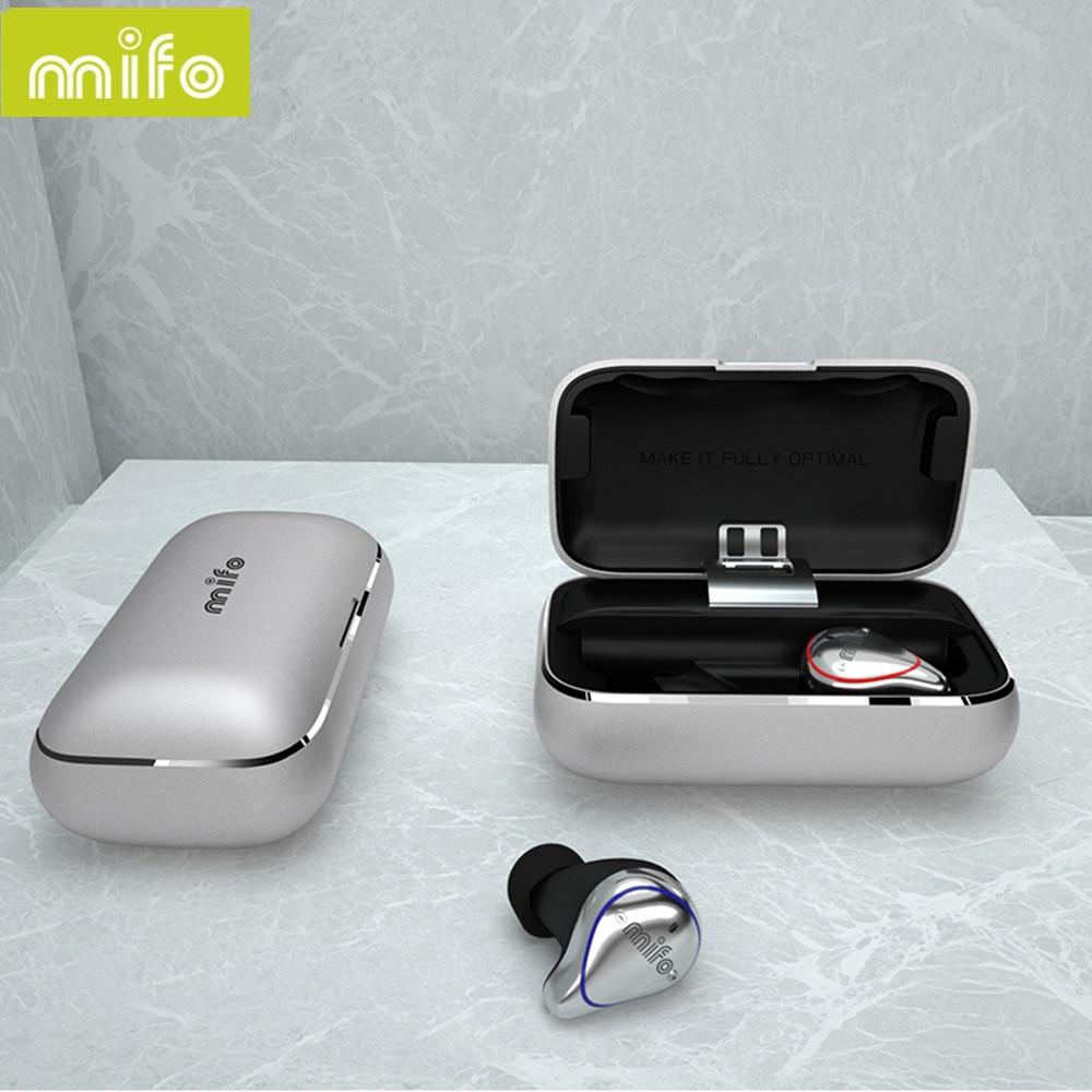 Nouveau Mifo O5 Bluetooth 5.0 véritable casque sans fil Bluetooth Binaural Mini écouteurs intra-auriculaires HIFI étanche écouteurs livraison gratuite - 4