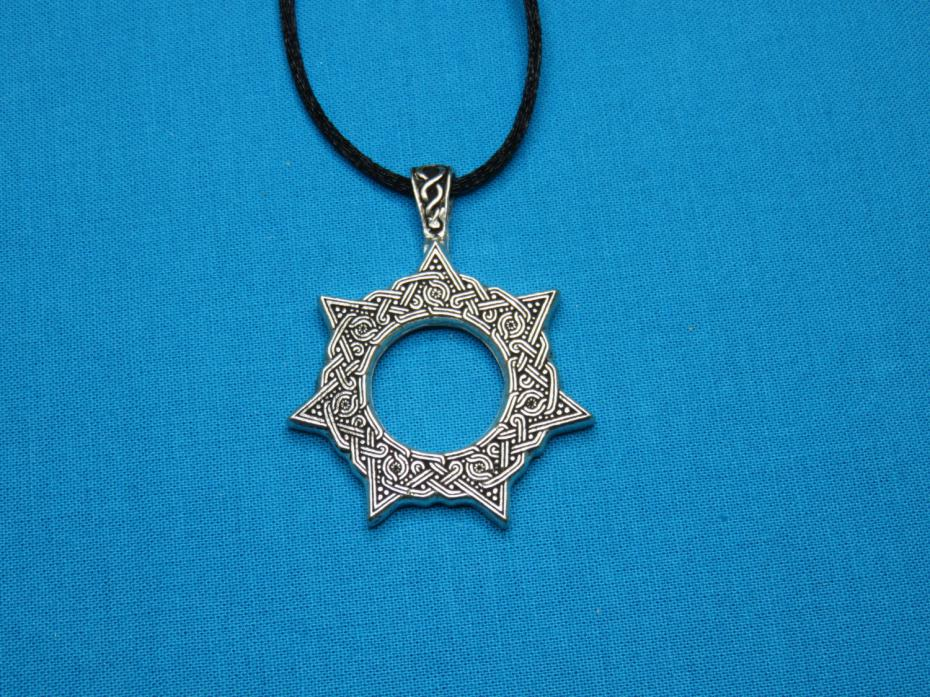 2016 men fashion jewelry hot sale necklace heptagram magical 7 photos list aloadofball Gallery