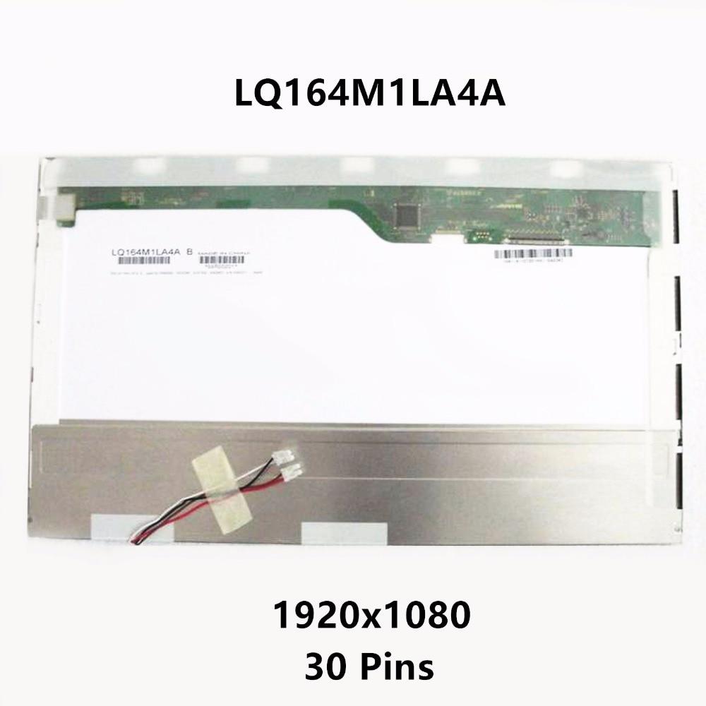 16 4 Laptop 2 CCFL LCD Screen Display Panel FHD LQ164M1LA4A For SONY VAIO VPC F