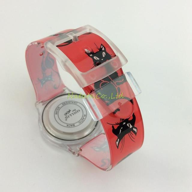 Mini Watch Cat Design Water Resistant