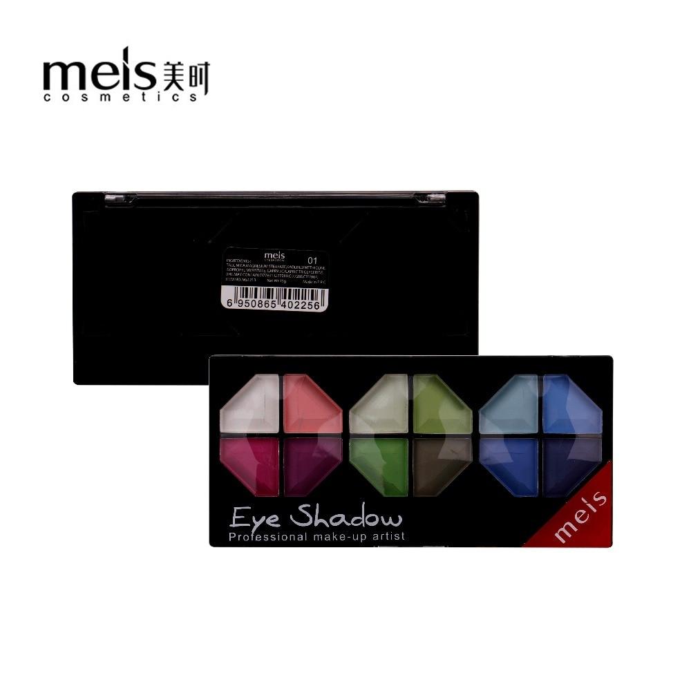 MEIS Merek Makeup Kosmetik Profesional Makeup 12 Warna Eye Shadow Palette Eyeshadow Matte Eyeshadow Eye Shadow Palette MS1213