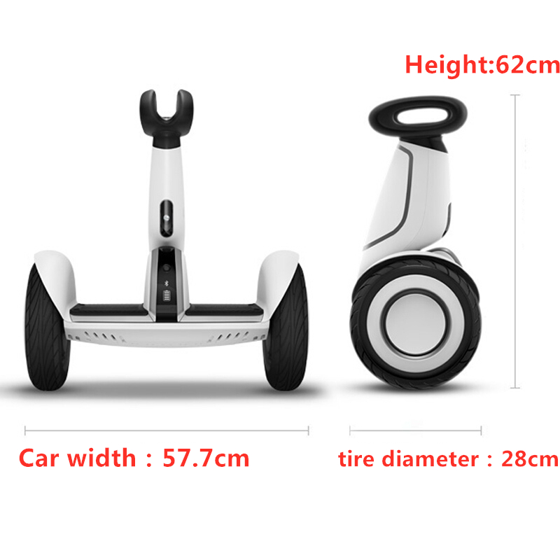 Оригинальный Xiaomi Mini Plus самобалансирующийся скутер 2 колесный умный электрический скутер Ховерборд скейтборд с приложением LED Ховерборд - 2
