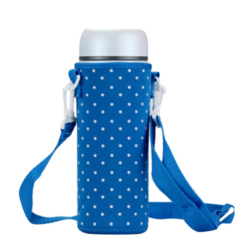 1Pc 500ML Waterproof Bottle Covers Water Bottle Bag Case Holder Carrier Sleeve Covers Insulated Bag Pouch Shoulder Strap Cover