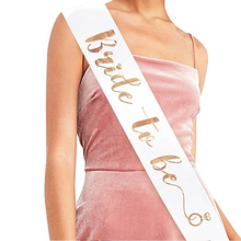 Bride to Be Satin Ribbon Sash with Diamond Ring Bachelorette Hen Party Sash for Wedding Party Bridal Shower Decoration Supplies стоимость