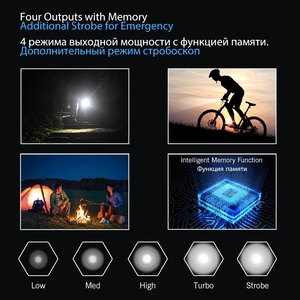 Image 5 - LUMINTOP EDC Mini Flashlight Tool AA 2.0  4  Outputs with Memory with Strobe  Max 127meters  Distance Max 650 Lumens for camping