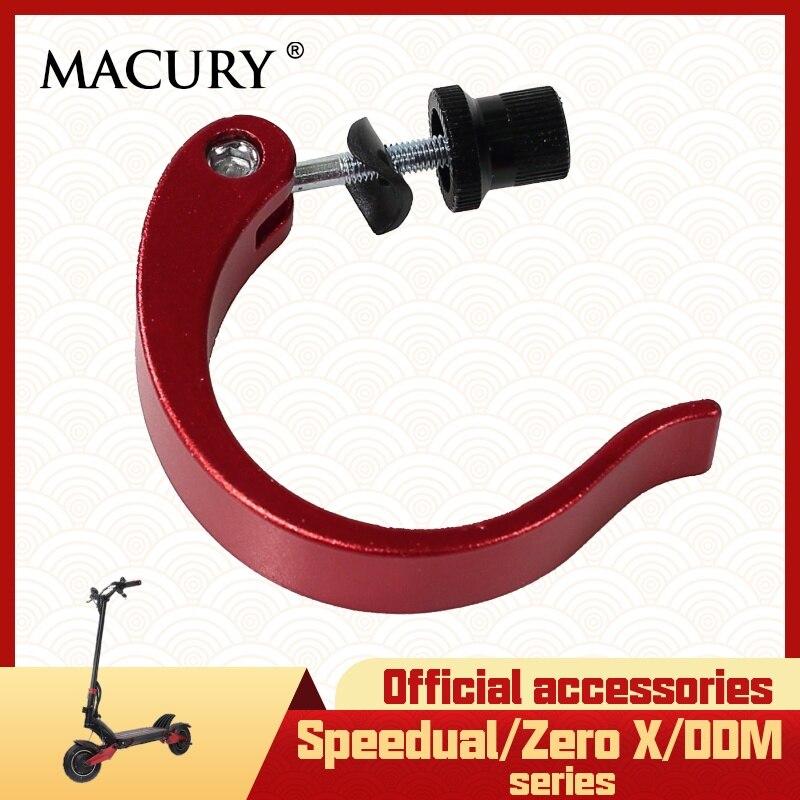 Quick Release Rod Clamp Clip Bar Vertical Fasten for Speedual Mini Plus Zero10X Zero8X Zero 8X 10X 11X Spare Parts Macury Scooter Parts & Accessories     - title=