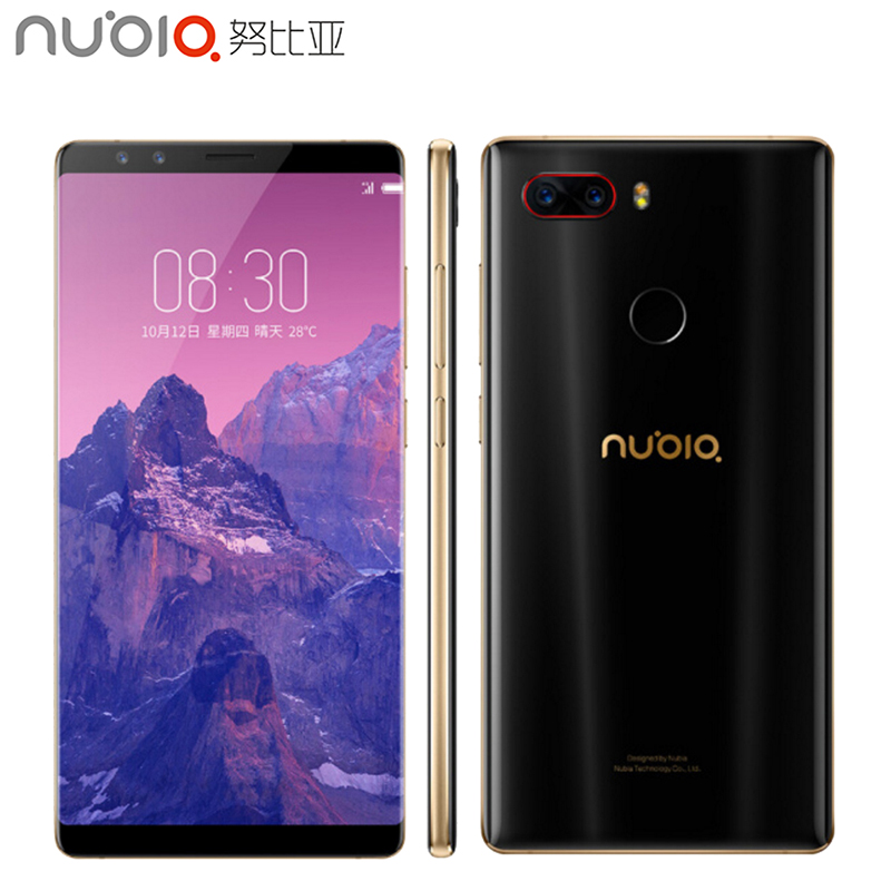 Original ZTE Nubia Z17S 5 73 inch Full Screen Cell Phone 6GB RAM 64GB ROM Snapdragon