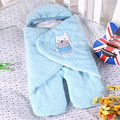 Velvet Sleeping Bag Newborn Thickening Anti-kick Was LD1124044
