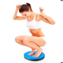 Health care Wobble Balance Twist Waist Torsion Disc Board Plate Aerobic Exercise Foot Fitness Yoga Training Reflexology Magnet
