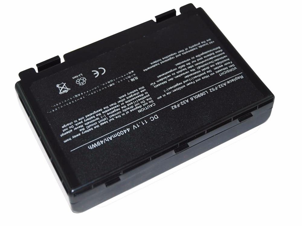LMDTK új 6 cellás laptop akkumulátor ASUS F52 F82 K40 K40lJ K40lN - Laptop kiegészítők - Fénykép 6