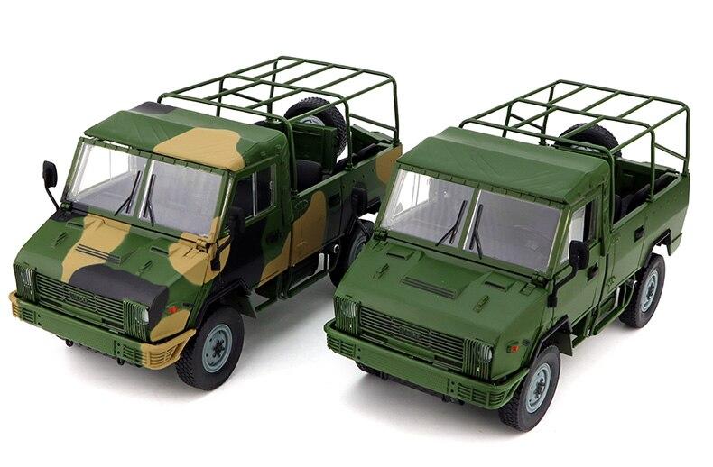 Hommes alliage modèle 1:24 échelle chine IVECO NJ2046 Cross-country militaire camion véhicules moulé sous pression jouet modèle Collection décoration