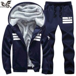 XIYOUNIAO جديد الرجال SportSuit أبلى العلامة التجارية الرجال رياضية ouwtear هوديس الرجال مجموعة الملابس + السراويل زائد حجم M ~ 6XL ، 7XL ، 8XL ، 9XL
