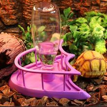 Automatic Pet Bowl Reptile Lizard Snake Food Water Feeder Dispenser Bottle Size S / L