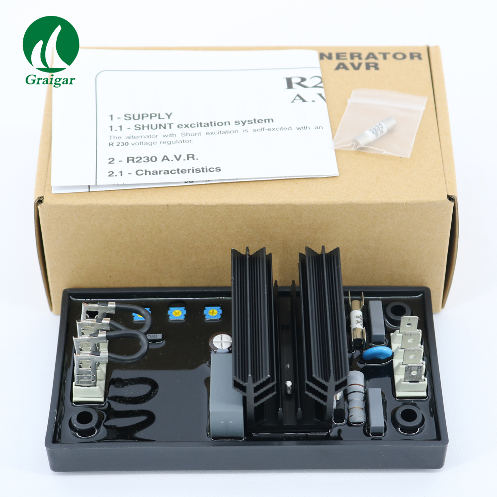 High Quality AVR R230 for Leroy Somer Generator Automatic Voltage Regulator Drop generator avr r230