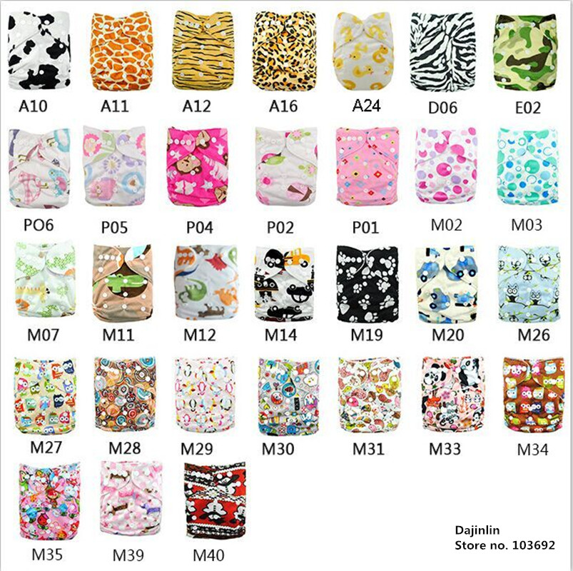 10 pcs/lot Hot Sales Winter Baby Cloth Diapers Reusable Baby Nappies Waterproof Infant Ajustable Nappies Diapers Winter Style