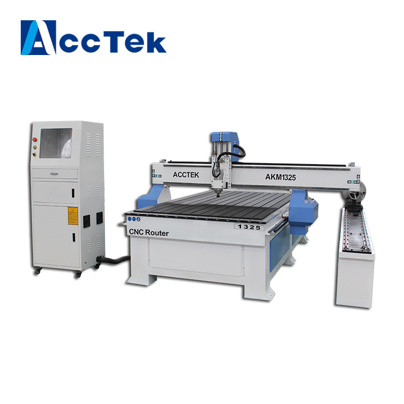 1325 Woodworking Machinery 3d Working Cnc Wood Carving Machine/cnc Router 4 Axis