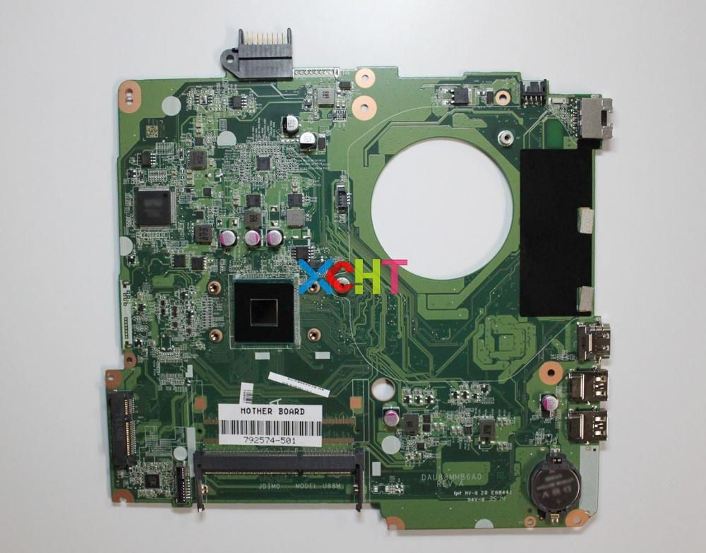 XCHT for HP Pavilion 15 Series 792574-501 DAU88MMB6A0 Laptop Motherboard Mainboard Tested & working perfectXCHT for HP Pavilion 15 Series 792574-501 DAU88MMB6A0 Laptop Motherboard Mainboard Tested & working perfect