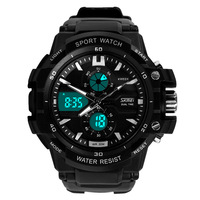 Readeel Multifunctional Men Sport Electronic Quartz Wristwatches Digital Alarm Military Smart Watches 30m Water Resistant