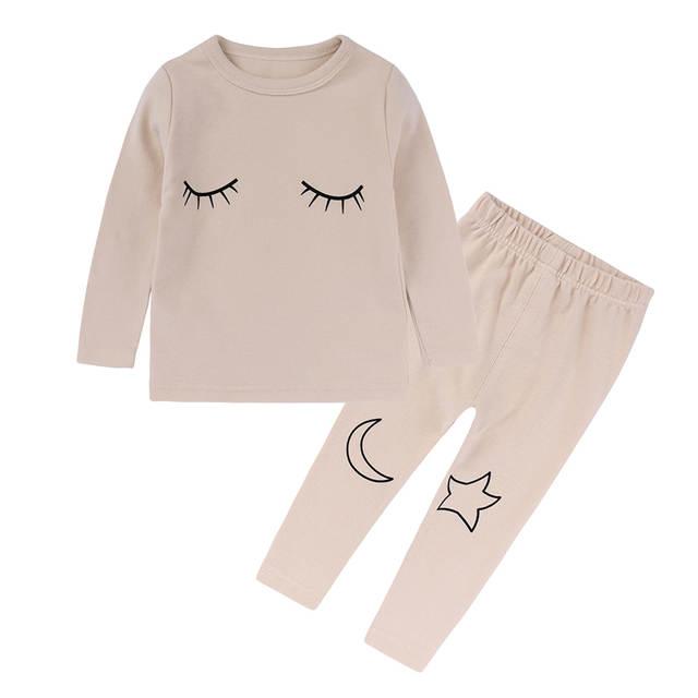 32f9b233cc7b Online Shop children home wear clothes kids Pajamas Sets boy girl ...