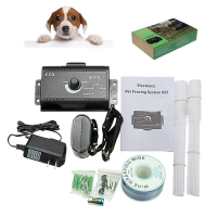 Free delivery Newest EU Plug Waterproof Ground Electronic Wireless Fence Containment System Dog Pet
