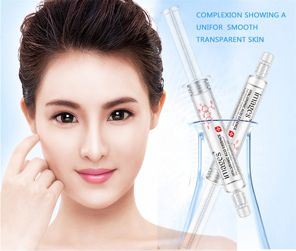 10ml Skin Care Hyaluronic Acid Needle Whitening Liquid Anti Wrinkle Anti Aging Collagen Pure Essence Moisturizer