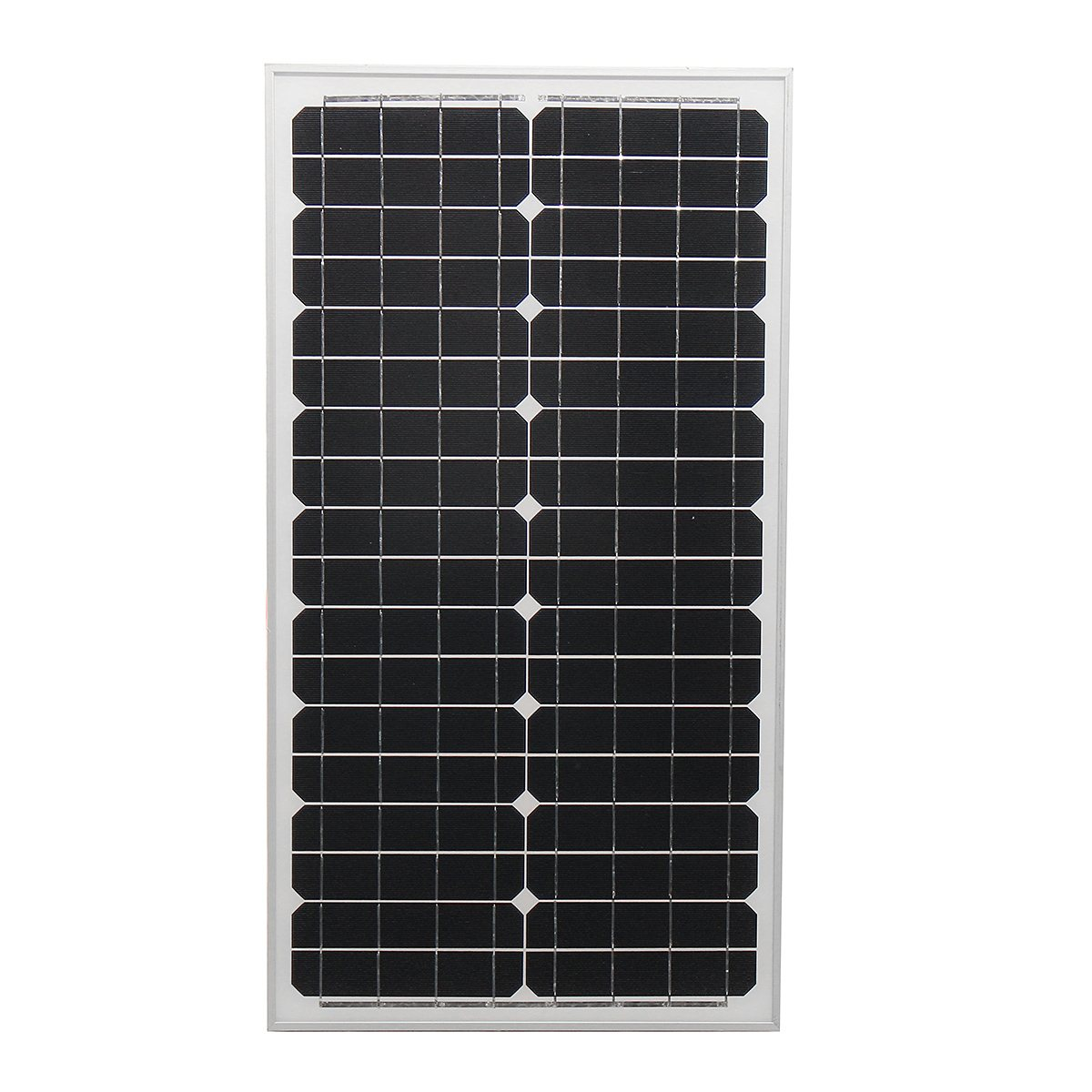 LEORY 30w 18v Solar Panel Monocrystalline Silicon High Conversion Rate Solar Cell  With Glass Bearing Plate For Car Battery sp 36 120w 12v semi flexible monocrystalline solar panel waterproof high conversion efficiency for rv boat car 1 5m cable